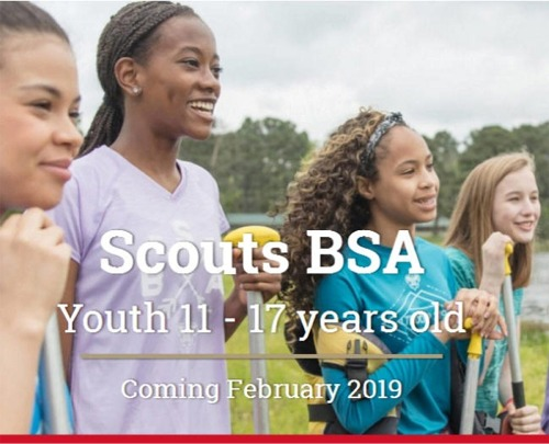 Scouts BSA for Girls